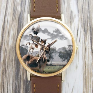 Animal Jenga - Women's Watch / Men's Watch / Neutral Table / Accessories [Special U Design]