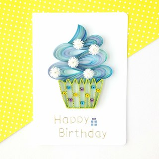 Hand made decorative cards- cupcake