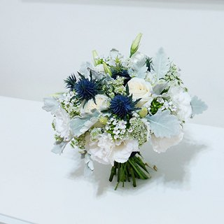 麋花 Amor Floral-小清Fresh Flower bouquet (Can specify color) / Bride Bridesmaid Dry flowers Wedding Bridal bouquet Garland Outside gift Wedding