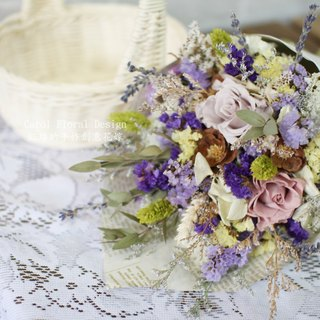 Amaranth [+] dried flower bouquet integrated - eternal flower / dried flower / bouquet jewelry / wedding bouquets Bouquet / Flower Ceremony