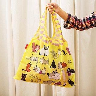 Japanese Prairie Dog Design Bag - Cat's Nest