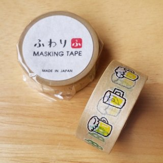 Japan Iyo and paper and paper tape [Fuwari beer (FW47009)]