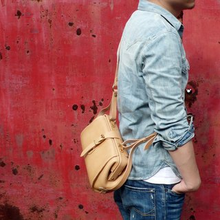 <隆鞄工坊>Classic doctor bag / side backpack