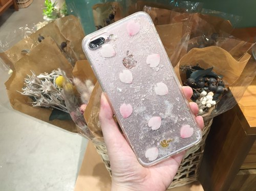 CRYSTAL BLOSSOM - PHONE CASE / CLEAR