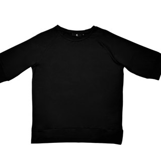 Black six sleeves perspiration