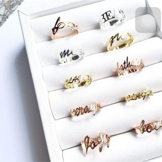 Glorygrove alphabet ring