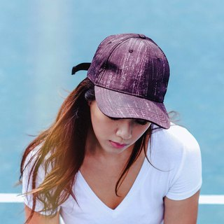 Baseball Cap - Maroon Splash