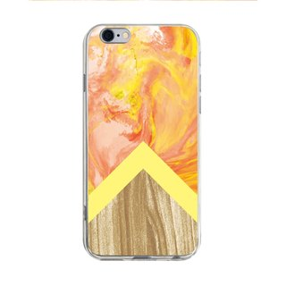 Orange wooden marble pattern - Samsung S5 S6 S7 S8 note4 note5 iPhone 5 5s 6 6s 6 plus 7 7 plus 8 8 plus ASUS HTC M9 Sony LG G4 G5 v10