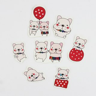 French bulldog sticker 7