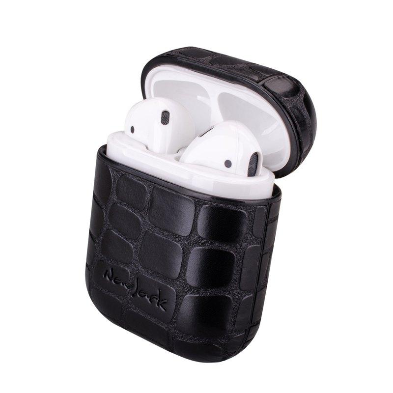 NavJack│APPLE │AirPods │藍芽耳機收納保護盒附掛繩