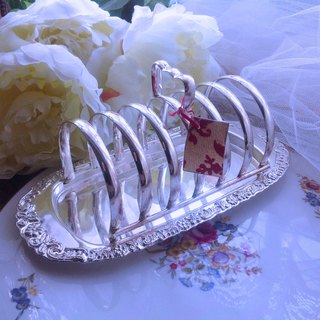 Gold and silver ware, carved in the UK, silver plated, 6 pieces, toast, afternoon tea, essential stock