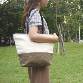 Stitching Tote Bag - Mother Earth