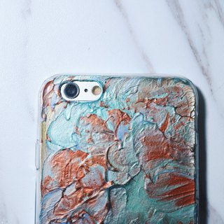Experimental series ll Indifferent ll hand-painted oil painting phone case