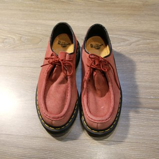 Back to Green :: Pink Dr.Martens vintage shoes