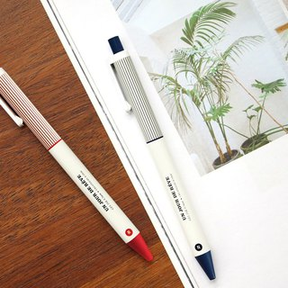 ICONIC Retro Dream Dry 0.5 Neutral Ball Pen Two Into Group - Red Ink/Dark Blue Ink, ICO51234S