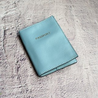 My Little Trip - Water Blue Leather Passport This passport holder passport holder