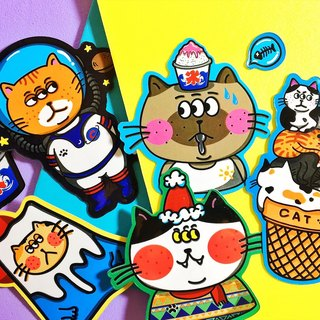 Cat Slave Combination - Six Groups / Stickers