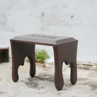 [Even] works hand-limits melted chocolate stools / can be customized / bench / chair / gifts / age / Designer