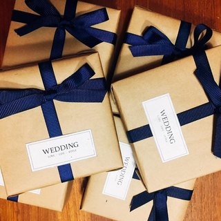 Plus purchase of goods - gift wrapping