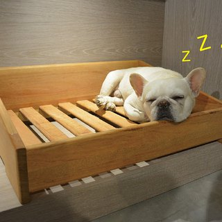 Timber bed for pets