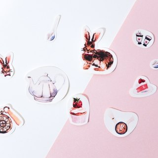 Rou Rou Stickers   Afternoon Tea Time