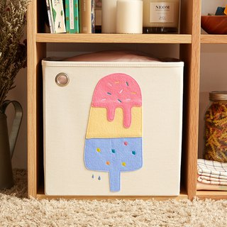US kaikai & ash Toy Storage Box - Lime Strawberry Popsicle