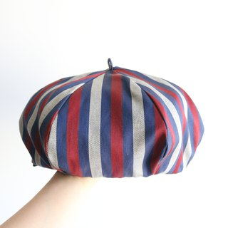 Be a Painter - Handmade Beret | Double sided (Black)