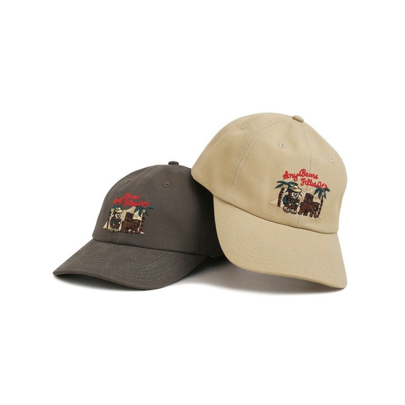 A.N.YBEARS x FILTER017 Traveler Bear Ball Cap 旅行者小熊復古棒球帽