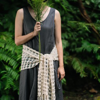 Artichoke dye-free series - cotton hand-woven multi-functional scarf