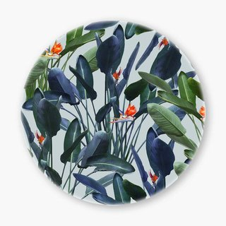 Snupped Ceramic Coaster - 陶瓷杯墊 - Bird of Paradise Pattern V2