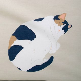 Comet people, various pillowcases, color, and more, collapse, single, double, hand-painted cat, 40 cotton bedding