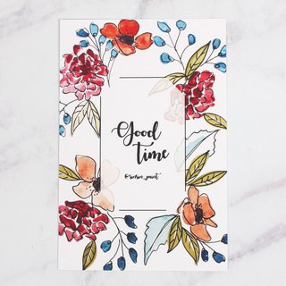 Good Time Botanical Instax Photo Frame Card - Joy