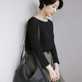 Milly crossbody bag / Shoulder bag - Black