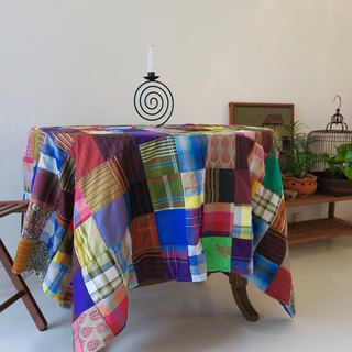 FREE SHIPPING  FOR MOTHER'S DAY Table Cloth Patchwork Indonesian Fabric