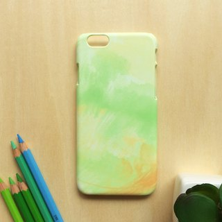 The Color of Field, Primrose yellow and greenery. Matte Case( iPhone, HTC, Samsung, Sony, LG, OPPO)