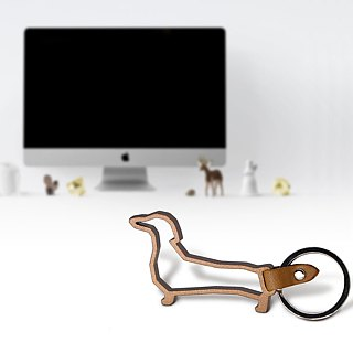 ZOO Animal Keyring - Dachshund