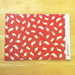 Japan Iyo Fuwari A4 paper and art paper. Wrapping [Cat (FCP35001)]