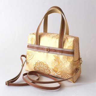 Shoulder bag with Japanese Traditional pattern, Kimono (2WAY) [brocade]