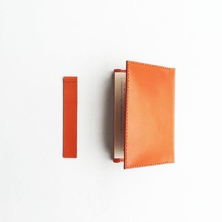 Sticky-style bookmark orange