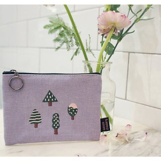 Lavender Forest Cosmetic Bag
