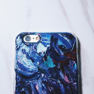 Experimental series ll Darkness ll hand-painted oil painting phone case