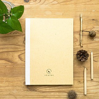 Leatai Classic Notebook, the graph notebook made especially for fountain pen! - cream cover
