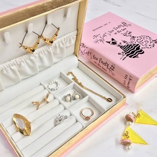 Jewelry Book Box : Pink