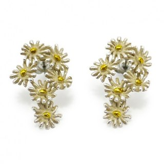 Marguerite bouquet Earrings Margaret Mob / Pierce PA133