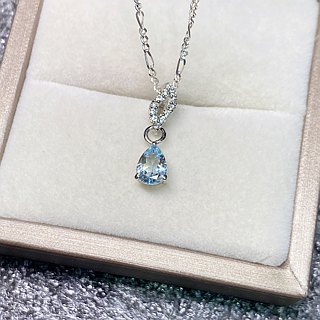 Aquamarine, Zircon Pendants Made in Nepal 92.5% Silver