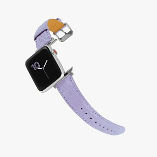 Multicolor Genuine Leather Goatskin Series Macarons Fantasy Pink Apple Watch Apple Watch Strap