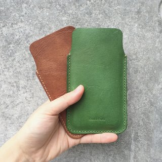 Leather iPhone 6//7/8 holder/case