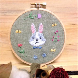 Hand Embroidered Ornaments - Nick Bunny