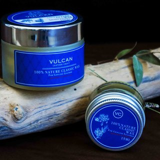 [VULCAN Leather Maintenance Oil 50g] Nature Classic WAX 100% All Natural Ingredients
