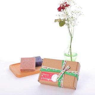 Handmade soap gift box for mother's day / birthday gift rose modeling